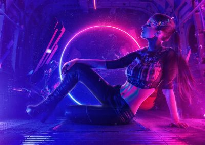 Cyberpunk Neon Demon